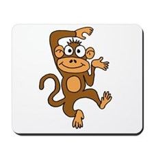 Cute Dancing Monkey Mousepad