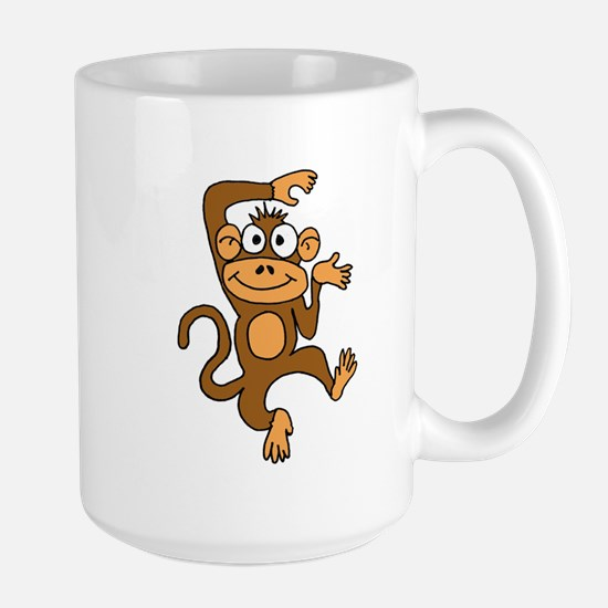 Cute Dancing Monkey Mug