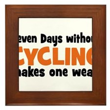 cycling Framed Tile
