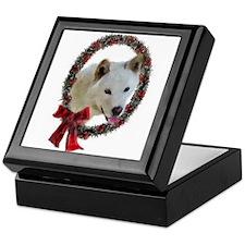 Jindo Christmas Keepsake Box