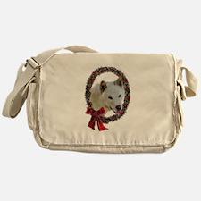 Jindo Christmas Messenger Bag
