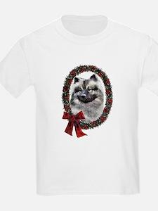 Keeshond Christmas T-Shirt