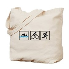 triathlon Tote Bag