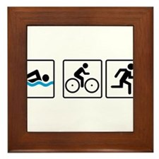 triathlon Framed Tile