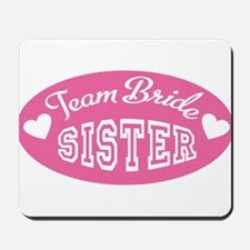 team bride Mousepad