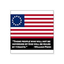 Betsy Ross American Flag Sticker