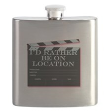 Id rather be on location Flask
