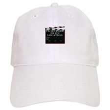 Id rather be on location Baseball Baseball Cap