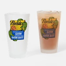 Florida Gator Bait Drinking Glass