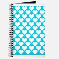 'Turquoise Hearts' Journal