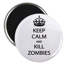 """Kill Zombies 2.25"""" Magnet (10 pack)"""