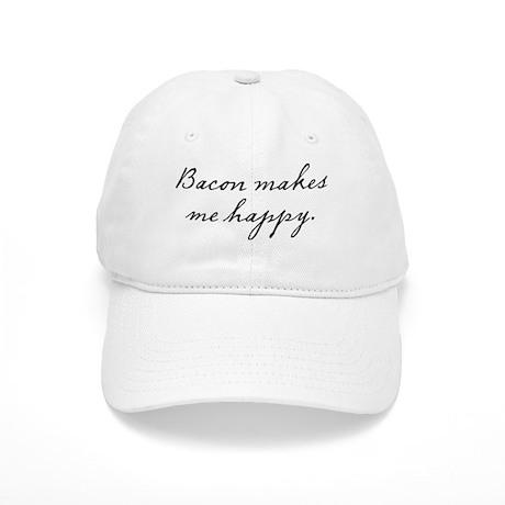 Bacon makes me happy Cap