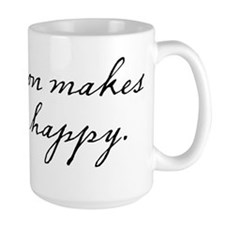 Bacon makes me happy Mug