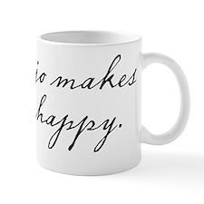 Banjo makes me happy Mug