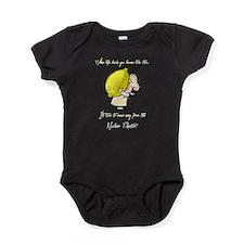 WHEN LIFE HANDS YOU LEMONS CREAM Baby Bodysuit