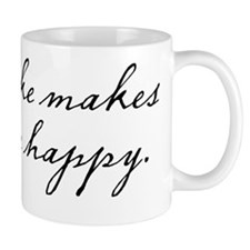 Cake makes me happy Mug