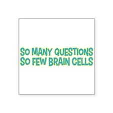 So many questions, so few brain cells child design