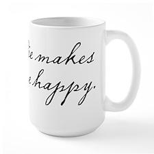 Pie makes me happy Mug