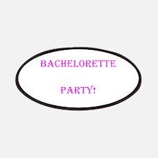 Pink Bachelorette Party One Last Hurrah Patches