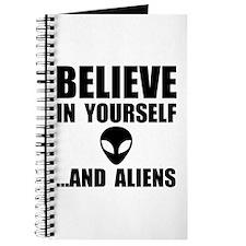 Believe Yourself Aliens Journal