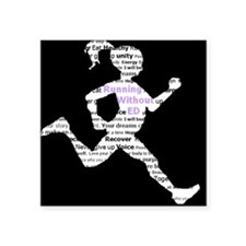 Running Without Ed Logo Sticker