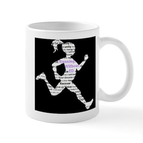 Running Without Ed Logo Mug