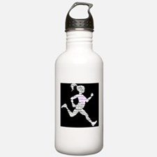 Running Without Ed Logo Water Bottle