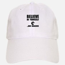 Believe Yourself Dragons Baseball Baseball Baseball Cap