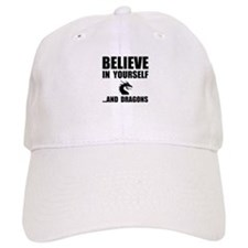 Believe Yourself Dragons Baseball Baseball Cap
