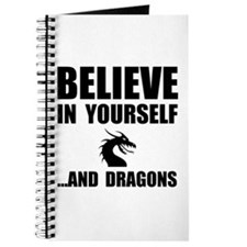 Believe Yourself Dragons Journal