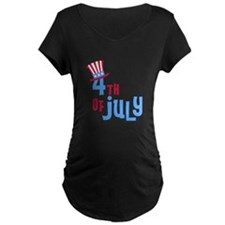 4th of July with Hat 1 T-Shirt