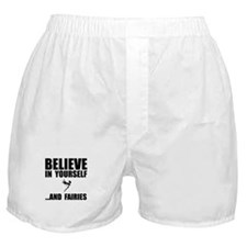Believe Yourself Faries Boxer Shorts