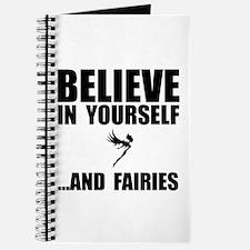 Believe Yourself Faries Journal