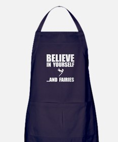 Believe Yourself Faries Apron (dark)