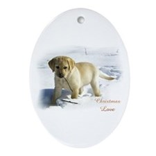 Labrador Retriever Ornament (Oval)