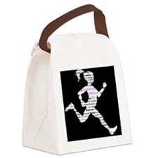 Running Without ED Canvas Lunch Bag