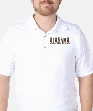 Alabama Coffee and Stars Golf Shirt