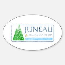 Vintage Juneau Alaska Decal