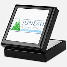 Vintage Juneau Alaska Keepsake Box