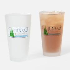Vintage Juneau Alaska Drinking Glass