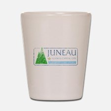 Vintage Juneau Alaska Shot Glass