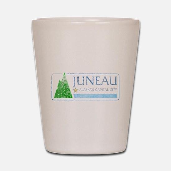 Vintage Juneau Alaska Shot Glass