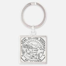 Vintage Alaska State Seal Keychains