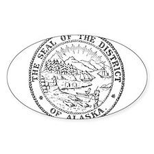 Vintage Alaska State Seal Decal