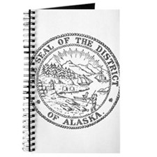 Vintage Alaska State Seal Journal