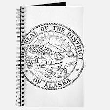 Vintage Alaska State Seal Journal