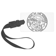 Vintage Alaska State Seal Luggage Tag