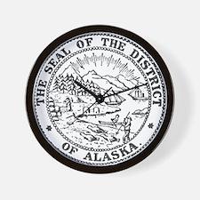 Vintage Alaska State Seal Wall Clock