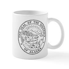Vintage Alaska State Seal Mug