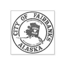 Vintage Fairbanks Alaska Sticker